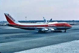 パール大山さんが、ジョン・F・ケネディ国際空港で撮影したアビアンカ航空 747-259BMの航空フォト(飛行機 写真・画像)