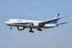 turenoアカクロさんが、福岡空港で撮影した全日空 777-281/ERの航空フォト(飛行機 写真・画像)