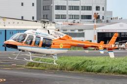T spotterさんが、東京ヘリポートで撮影した新日本ヘリコプター 407の航空フォト(飛行機 写真・画像)