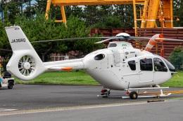 T spotterさんが、浦安ヘリポートで撮影したエクセル航空 EC135T3の航空フォト(飛行機 写真・画像)