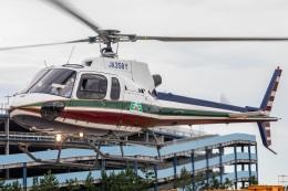 T spotterさんが、浦安ヘリポートで撮影したエクセル航空 AS350B2 Ecureuilの航空フォト(飛行機 写真・画像)