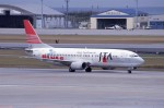 kumagorouさんが、那覇空港で撮影した日本トランスオーシャン航空 737-4K5の航空フォト(飛行機 写真・画像)