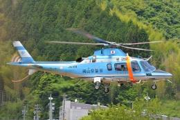 ブルーさんさんが、静岡ヘリポートで撮影した岡山県警察 A109E Powerの航空フォト(飛行機 写真・画像)