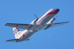 ちゃぽんさんが、入間飛行場で撮影した航空自衛隊 YS-11A-218EAの航空フォト(飛行機 写真・画像)