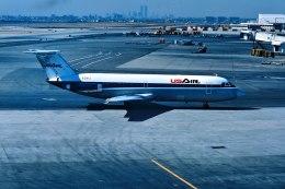 パール大山さんが、ジョン・F・ケネディ国際空港で撮影したUSエア 111-204AF One-Elevenの航空フォト(飛行機 写真・画像)