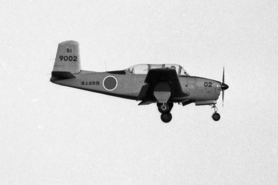 apphgさんの海上自衛隊 Fuji T-34 (9002) 航空フォト