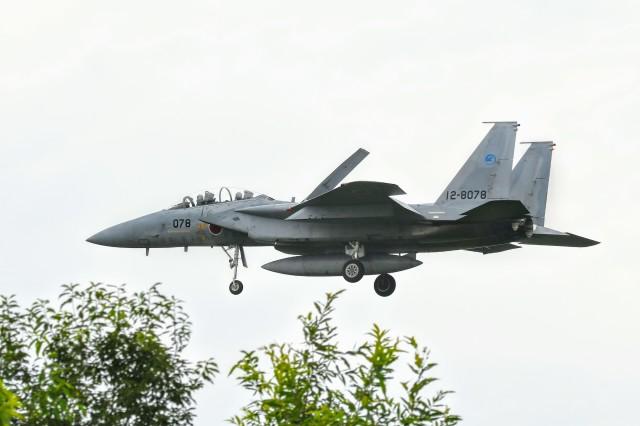 のぶさん。さんが、岐阜基地で撮影した航空自衛隊 F-15DJ Eagleの航空フォト(飛行機 写真・画像)