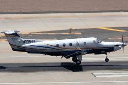 キャスバルさんが、フェニックス・スカイハーバー国際空港で撮影したブティックエア PC-12/45の航空フォト(飛行機 写真・画像)