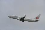 LEVEL789さんが、岡山空港で撮影した日本トランスオーシャン航空 737-8Q3の航空フォト(飛行機 写真・画像)