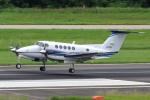 yabyanさんが、名古屋飛行場で撮影した中日本航空 B200 Super King Airの航空フォト(飛行機 写真・画像)