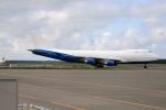 北の熊さんが、新千歳空港で撮影したドバイ・ロイヤル・エア・ウィング 747-412F/SCDの航空フォト(飛行機 写真・画像)