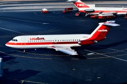 パール大山さんが、ラガーディア空港で撮影したUSエア 111-204AF One-Elevenの航空フォト(飛行機 写真・画像)