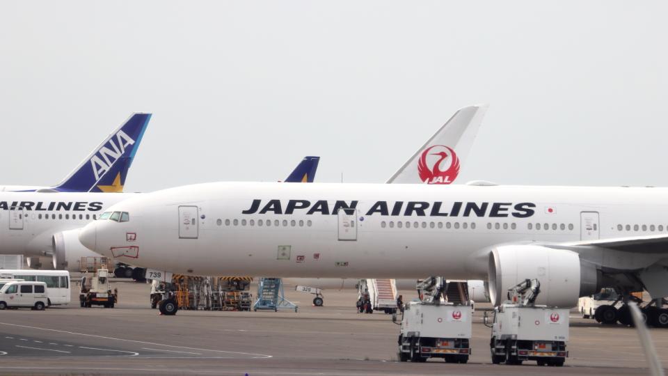 誘喜さんの日本航空 Boeing 777-300 (JA739J) 航空フォト