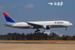 tassさんが、成田国際空港で撮影したデルタ航空 777-232/ERの航空フォト(飛行機 写真・画像)