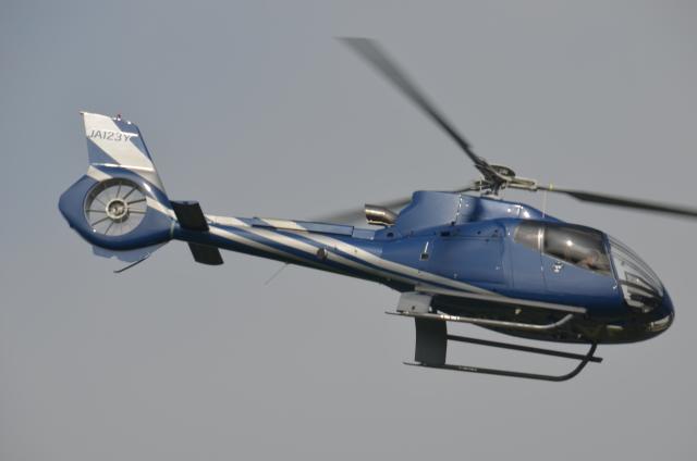 IL-18さんが、東京ヘリポートで撮影したユーロヘリ EC130B4の航空フォト(飛行機 写真・画像)
