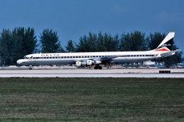 パール大山さんが、マイアミ国際空港で撮影したデルタ航空 DC-8-61の航空フォト(飛行機 写真・画像)