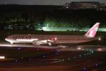 ちゃぽんさんが、成田国際空港で撮影したカタール航空 777-3DZ/ERの航空フォト(飛行機 写真・画像)