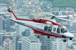 T spotterさんが、横浜市で撮影した横浜市消防航空隊 AW139の航空フォト(飛行機 写真・画像)