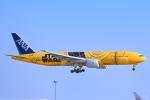 シグナス021さんが、羽田空港で撮影した全日空 777-281/ERの航空フォト(飛行機 写真・画像)