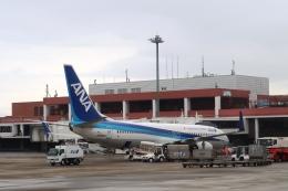 Hiro-hiroさんが、長崎空港で撮影した全日空 737-881の航空フォト(飛行機 写真・画像)