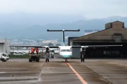 Hiro-hiroさんが、長崎空港で撮影したオリエンタルエアブリッジ DHC-8-201Q Dash 8の航空フォト(飛行機 写真・画像)