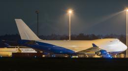 うみBOSEさんが、新千歳空港で撮影したドバイ・ロイヤル・エア・ウィング 747-412F/SCDの航空フォト(飛行機 写真・画像)