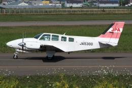 Echo-Kiloさんが、札幌飛行場で撮影したジェイピーエー 58 Baronの航空フォト(飛行機 写真・画像)