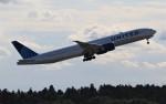 Rsaさんが、成田国際空港で撮影したユナイテッド航空 777-322/ERの航空フォト(飛行機 写真・画像)