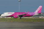 きんめいさんが、関西国際空港で撮影したピーチ A320-214の航空フォト(飛行機 写真・画像)