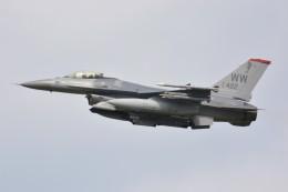 デルタおA330さんが、横田基地で撮影したアメリカ空軍 F-16CM-50-CF Fighting Falconの航空フォト(飛行機 写真・画像)