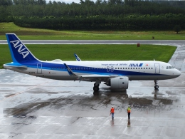 FT51ANさんが、庄内空港で撮影した全日空 A320-271Nの航空フォト(飛行機 写真・画像)