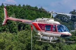 航空フォト:JA6061 ヘリサービス 206/406
