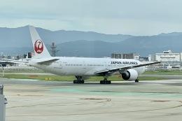 M.airphotoさんが、福岡空港で撮影した日本航空 777-346/ERの航空フォト(飛行機 写真・画像)