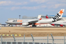 kahluamilkさんが、成田国際空港で撮影したジェットスター A330-202の航空フォト(飛行機 写真・画像)