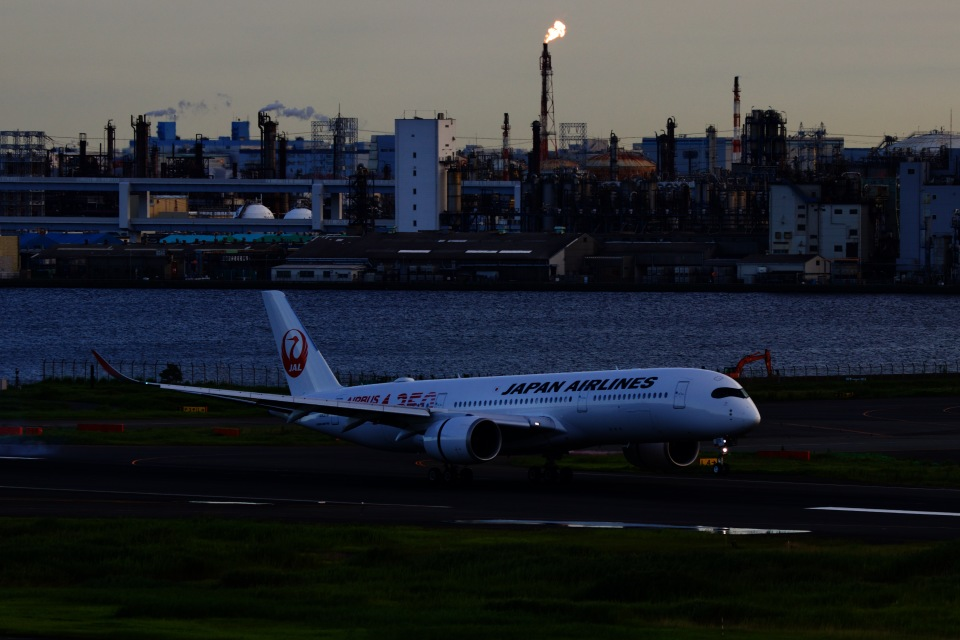 M.A.airphotoさんの日本航空 Airbus A350-900 (JA01XJ) 航空フォト