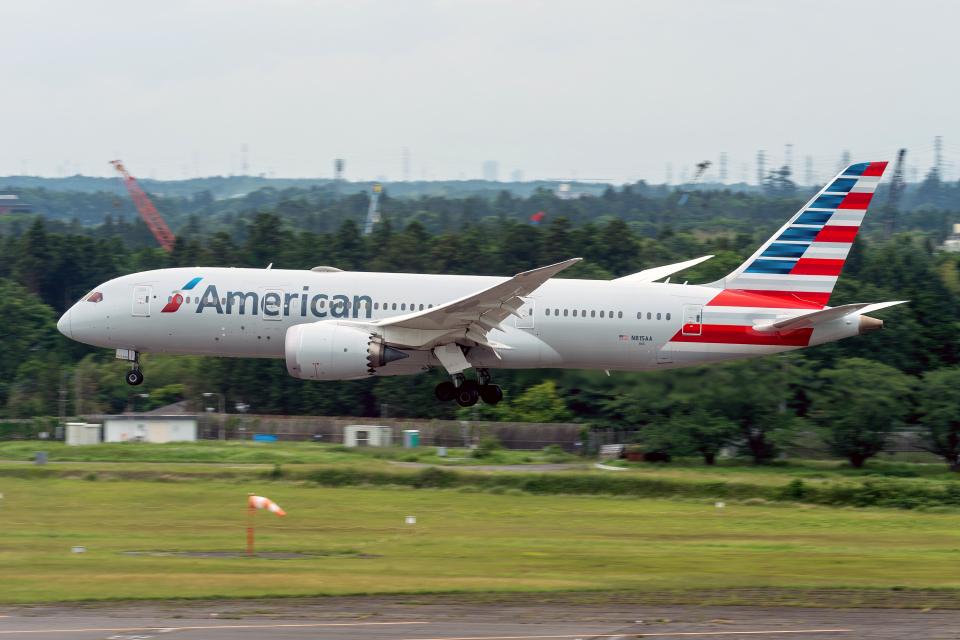 K.Sさんのアメリカン航空 Boeing 787-8 Dreamliner (N815AA) 航空フォト