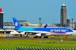 ちっとろむさんが、成田国際空港で撮影したエア・タヒチ・ヌイ A340-313Xの航空フォト(飛行機 写真・画像)