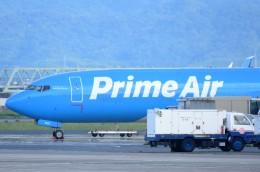 M.Tさんが、関西国際空港で撮影したアマゾン・プライム・エア 737-83Nの航空フォト(飛行機 写真・画像)