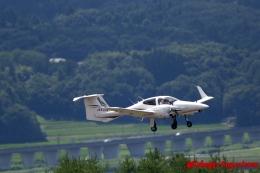 湖景さんが、福島空港で撮影したアルファーアビエィション DA42 TwinStarの航空フォト(飛行機 写真・画像)