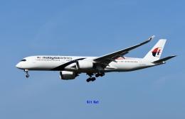 キットカットさんが、成田国際空港で撮影したマレーシア航空 A350-941の航空フォト(飛行機 写真・画像)