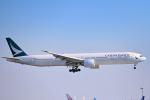 シグナス021さんが、羽田空港で撮影したキャセイパシフィック航空 777-367/ERの航空フォト(飛行機 写真・画像)