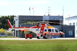 A-Chanさんが、つくばヘリポートで撮影した朝日航洋 430の航空フォト(飛行機 写真・画像)