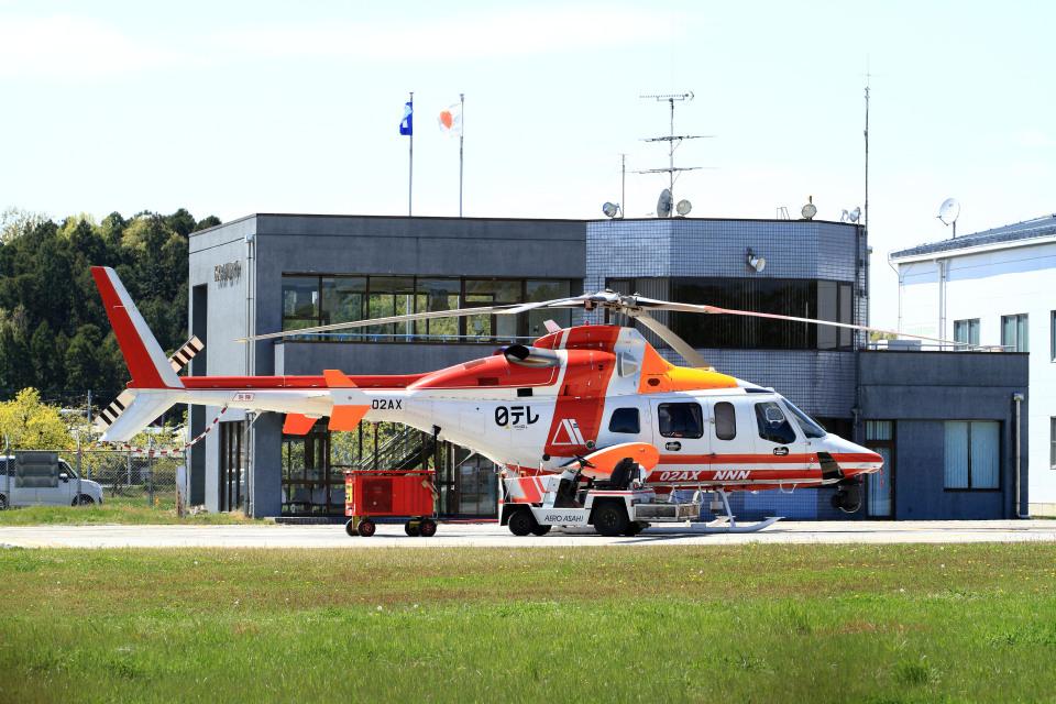 A-Chanさんの朝日航洋 Bell 430 (JA02AX) 航空フォト