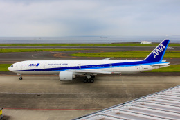 かっちゃん✈︎さんが、中部国際空港で撮影した全日空 777-381/ERの航空フォト(飛行機 写真・画像)