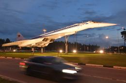 しゅん83さんが、ジュコーフスキー空港で撮影したアエロフロート・ロシア航空 Tu-144LLの航空フォト(飛行機 写真・画像)