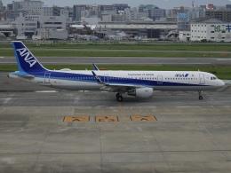 Blue605Aさんが、福岡空港で撮影した全日空 A321-211の航空フォト(飛行機 写真・画像)