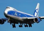 ちゃぽんさんが、成田国際空港で撮影したエアブリッジ・カーゴ・エアラインズ 747-83QFの航空フォト(飛行機 写真・画像)