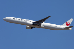 mameshibaさんが、成田国際空港で撮影した日本航空 777-346/ERの航空フォト(飛行機 写真・画像)