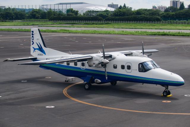 kuraykiさんが、調布飛行場で撮影した新中央航空 228-212の航空フォト(飛行機 写真・画像)