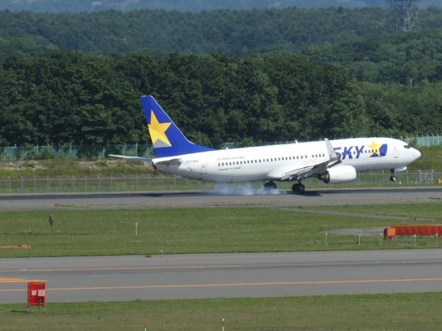myu_22さんが、新千歳空港で撮影したスカイマーク 737-82Yの航空フォト(飛行機 写真・画像)